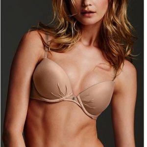 B2G1 Victoria's Secret Nude Plunge Underwire Bra